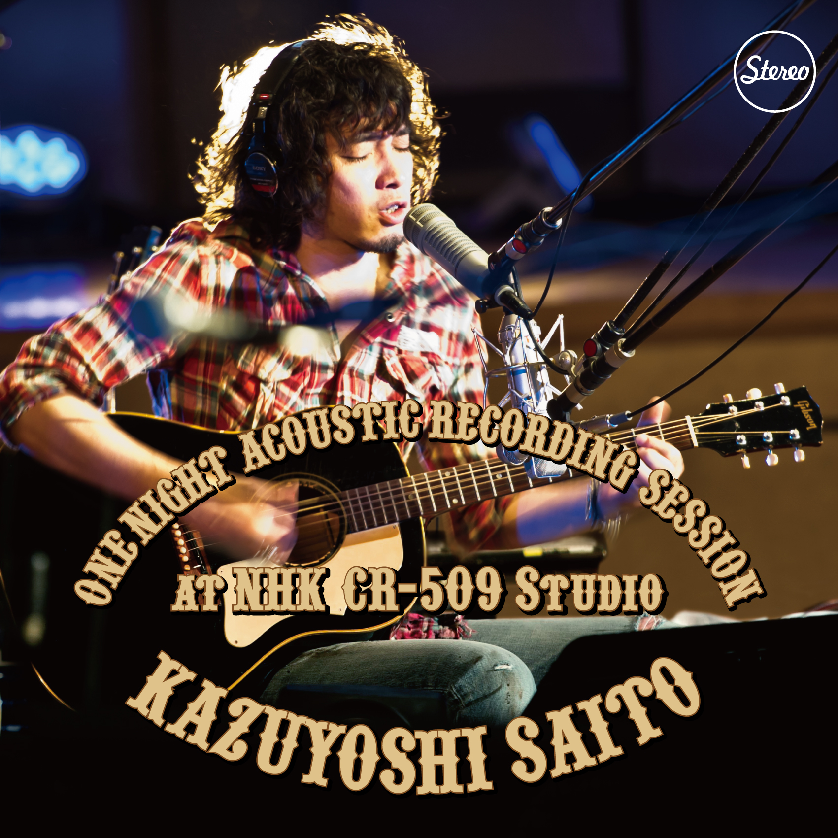『ONE NIGHT ACOUSTIC RECORDING SESSION at NHK CR-509 Studio』jacket
