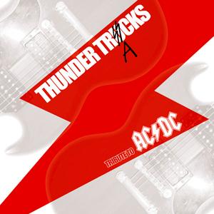『AC/DCカヴァートリビュートアルバム / THUNDER TRACKS』jacket